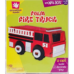 Foam 3D Fire Truck Kit
