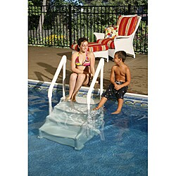 Swim Time Above Ground 24-inch Simple Step