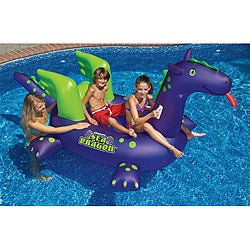 Swimline Giant Sea Dragon Inflatable Ride-On Pool Toy