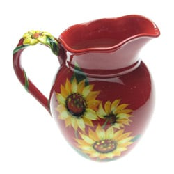 Certified International Sun Blossom 3.75-quart Pitcher