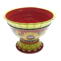 Certified International Sun Blossom 11-in Centerpiece Bowl