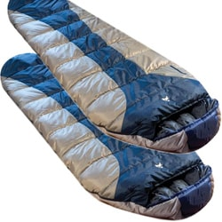 Ledge River +0 Degree Sleeping Bags (Pack of 2)