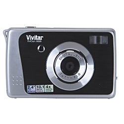 Vivitar ViviCam X025 10.1MP Black Digital Camera