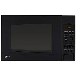 GE Profile PEB1590DMBB Black 1.5-cu-ft Countertop Microwave Oven