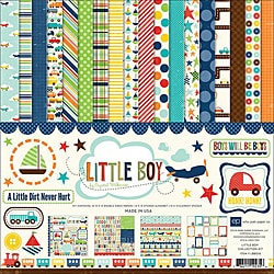 Little Boy Scrapbook Collection Kit