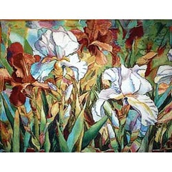 White Beauties Wall Tapestry Hanging