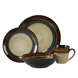 Pfaltzgraff Galaxy Red 16-piece Dinnerware Set