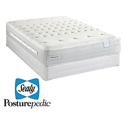 Sealy Posturepedic Pointborough Firm Full-size Mattress Set