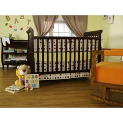 DaVinci Jamie 4-in-1 Crib in Espresso