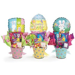 Easter Egg Candy Bouquet