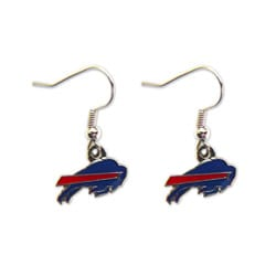 Buffalo Bills Dangle Logo Earrings