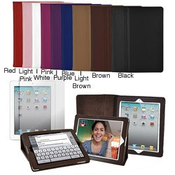 Apple iPad 2/3/4 Leatherette Folding Stand Case