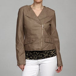 Kenneth Cole Women's Zip Front Jacket