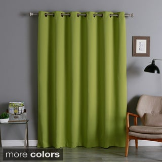 Lights Out Extra Wide Thermal 96-inch Blackout Curtain Panel