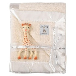 Vulli Prestige Blanket and Sophie the Giraffe Gift Set
