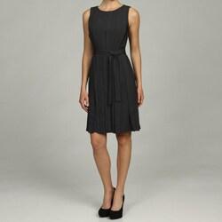 Calvin Klein Women's Belted Waist Dress