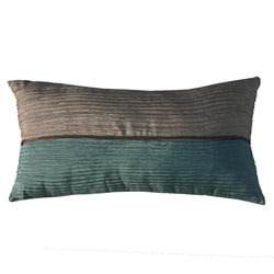 Jiti Pillows Bombay Monaco Beige/ Aqua Decorative Pillow