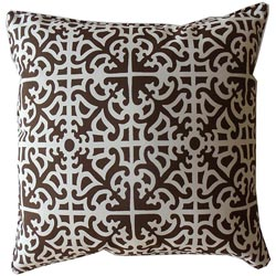 Outdoor Brown Malibu Decorative Pillow