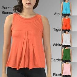 AtoZ Women's Cotton Swing Tank Top