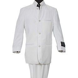 Ferrecci Boy's White Two-piece Suit