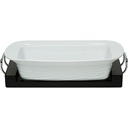 Red Vanilla Oven-to-table 15-inch Rectangular Baking Dish