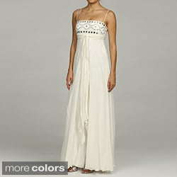 Issue New York Women's Silk Beaded Evening Gown