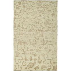 Handmade Soho Ivory New Zealand Wool Rug (7'6 x 9'6)