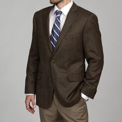 Arnold Brant Men's Brown Slim-fit Blazer