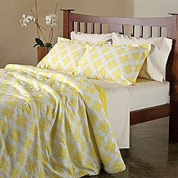 Tempo Cotton 3-piece Duvet Cover Set