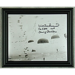 Band of Brothers Wild Bill Guarnere Autographed Photo Framed