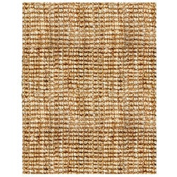 Andes Boucle Natural Jute Rug (4' x 6')