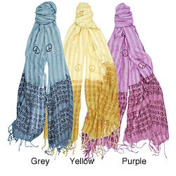 Peace Mantra Scarf (India)