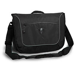 J World 'Windgate' Black Messenger Bag
