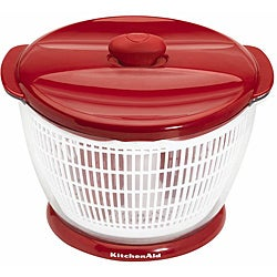 KitchenAid Red 6-quart Salad Spinner