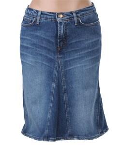 Just Cavalli Blue Denim Skirt