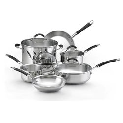 KitchenAid Stainless Steel 10-pc Cookware Set