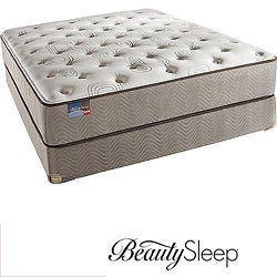 Simmons BeautySleep Fox Hollow Plush King-size Mattress Set