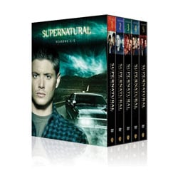 Supernatural: Seasons 1-5 (DVD)