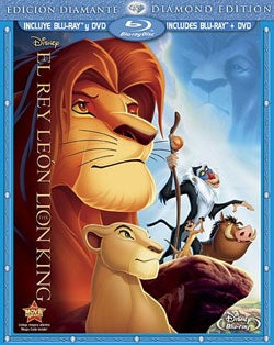 The Lion King (Diamond Edition) (Spanish Package) (Blu-ray/DVD)