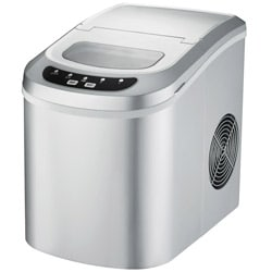 Supentown Silver Compact Portable Ice Maker