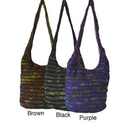 Cotton Tie-dye Razor Sling Bag (Nepal)