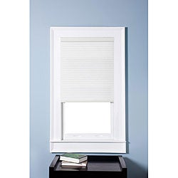 Honeycomb Cell Light-filtering Pure White  Cellular Shades (34 x 60)