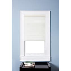 Honeycomb Cell Light-filtering Pure White Cellular Shades (34.5 x 72)