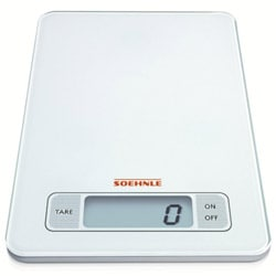 Soehnle 66100 Page White Digital Kitchen Scale