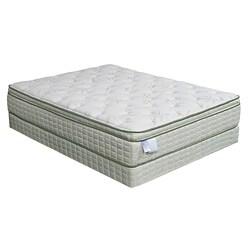 Soy-Bean Euro Pillow-top Premium Full-size Mattress Set