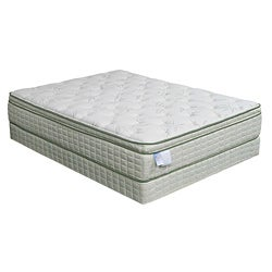 Eco-Pedic Euro Pillow-top Premium Queen-size Mattress Set
