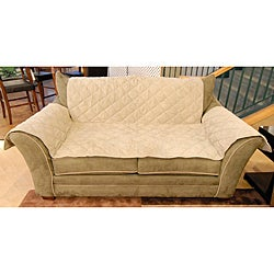 Microsuede Love Seat Furniture Cover