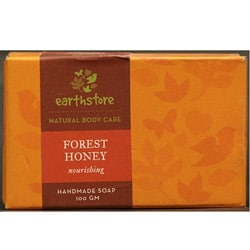 Set of 2 Handmade Forest Honey Nourishing Soap Bars (India)