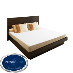 SplendoRest Avena 8-inch King-size Memory Foam Mattress-in-a-Box