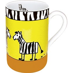 Konitz Mugs Animal Stories Zebra (Set of 4)